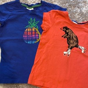 2 Hanna Andersson tee shirts